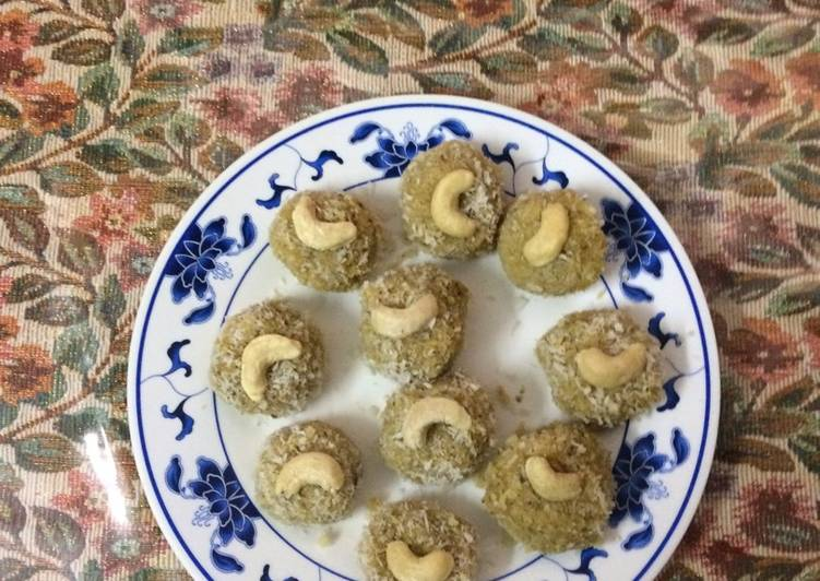 Choosing The Right Foods May Help You Stay Fit As Well As Healthy Thandai Nariyal laddoo