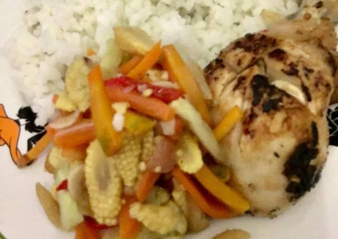 71. Paha Ayam Diet