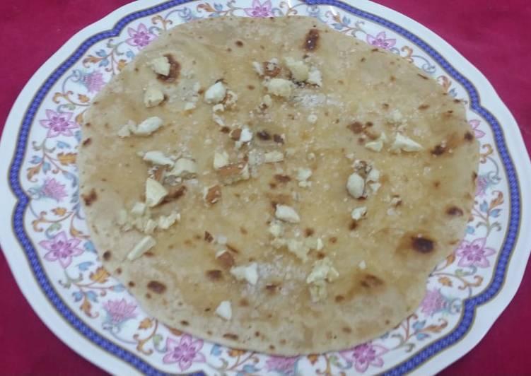 Steps to Make Super Quick Homemade Ghee Shakkar Roti