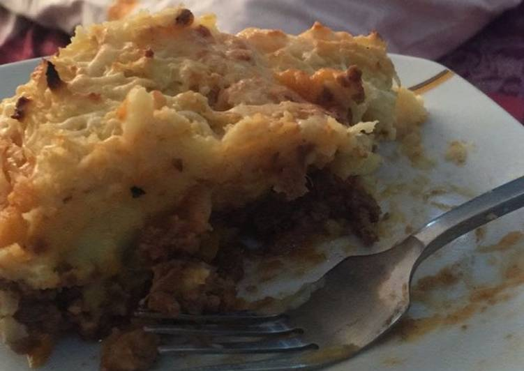 Recipe of Super Quick Homemade Shepherd's pie