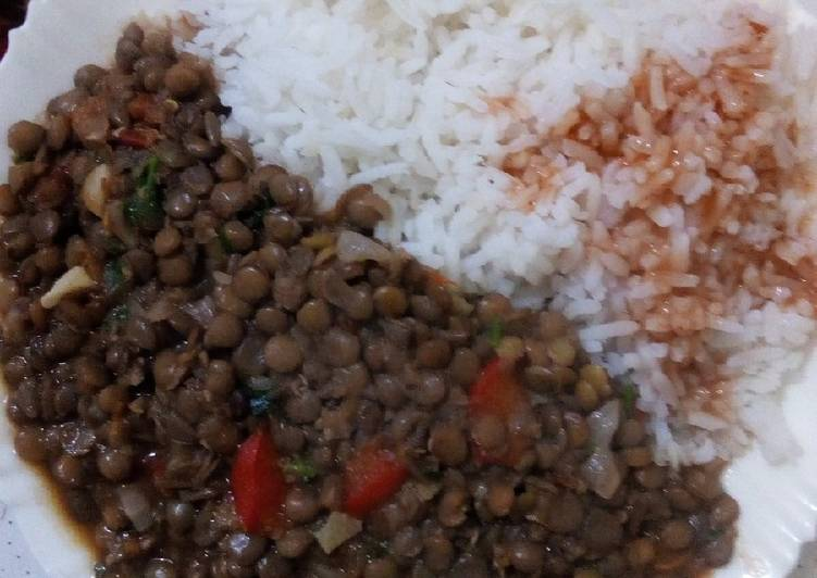 Step-by-Step Guide to Prepare Quick Lentils and rice