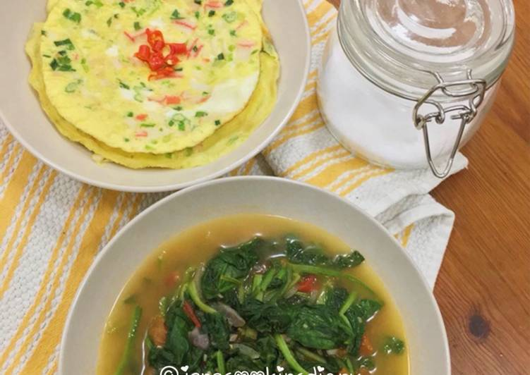 Recipe: Appetizing Crab Stick Omelette