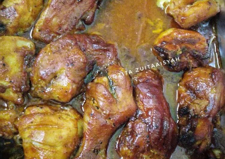 Resepi Ayam Panggang Ala Dominos Sedap Dan Simple