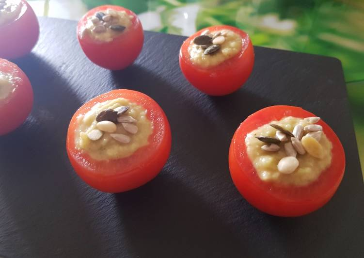 Comment Préparer Parfait Houmous concombre/pois chiches