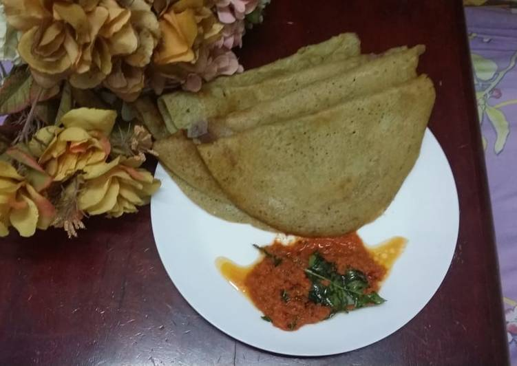 Adai Dosa/Mixed Lentil Dosa Choosing Fast Food That's Fine For You
