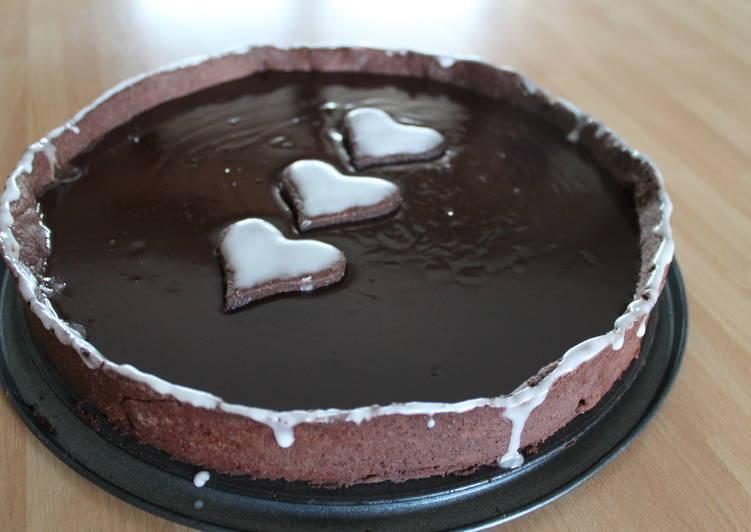 Ricetta Frolla con crema al cioccolato e caffè