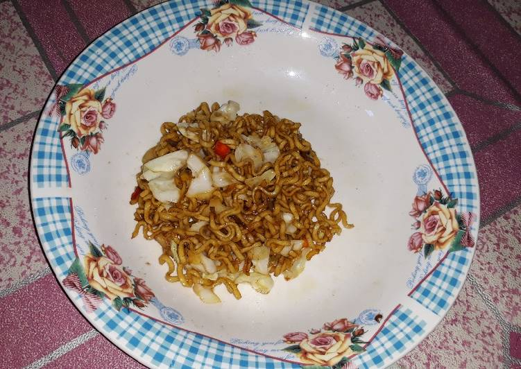 Resep Mie goreng simpel cocok untuk anak kost Paling dicari