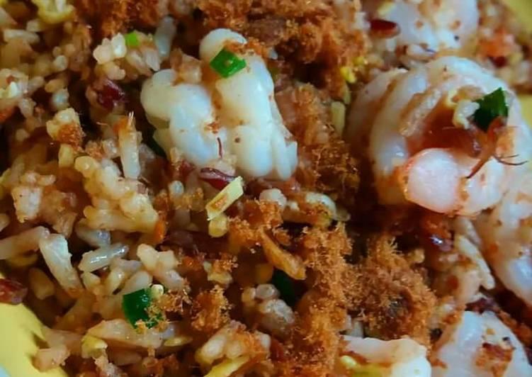 Nasi Goreng Abon Sapi & Udang Gurih