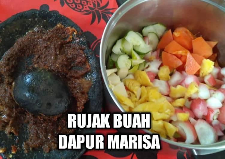 RESEP RUJAK BUAH - DAPUR MARISA