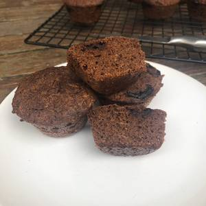 Keto - Chocolate Muffins rellenos de chocolate