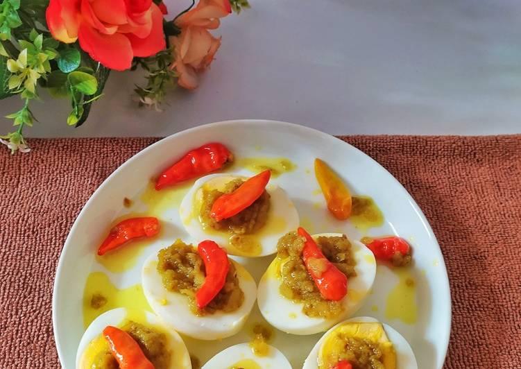 Telur Bumbu Bali Khas Bali