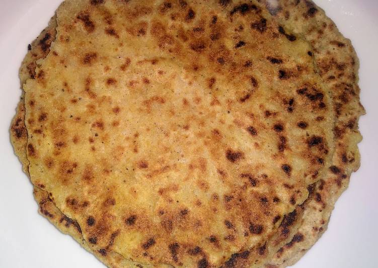 Recipe of Super Quick Homemade Kuttu ke parathe