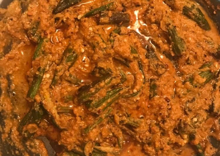 Simple Way to Prepare Quick Dhaba style Bhindi Masala