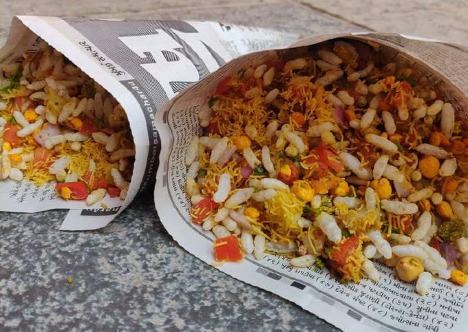 Simple Way to Prepare Super Quick Homemade Sukha Bhel Mumbai Style