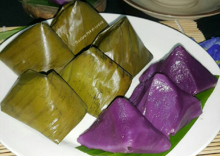 #204 Kue bugis / kue mendhut ubi ungu - cookandrecipe.com