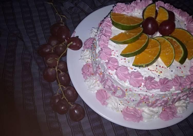 Birthday cake Red Velvet - cookandrecipe.com