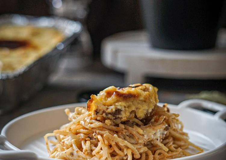 Spaghetti Brulee 'Rumahan'