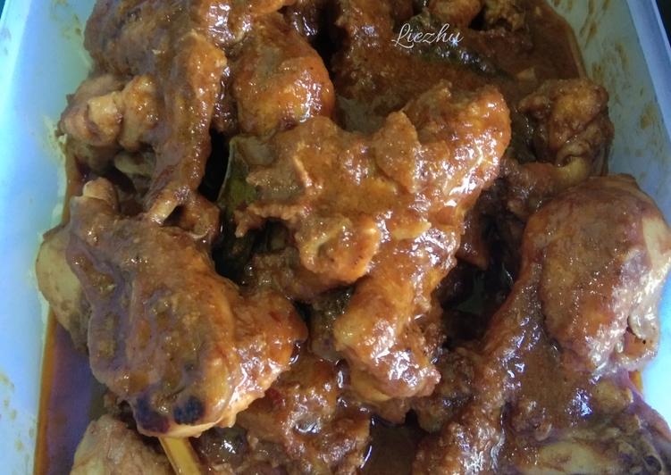 Resep Rendang Ayam Yang Simple Bikin Ngiler