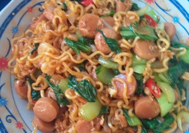 Resep Indomie goreng dapur saya Paling Top