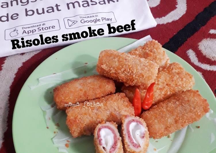 Risoles smoke beef