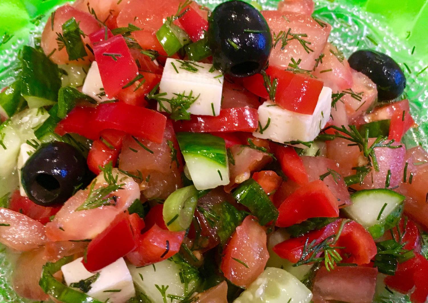 простой салат из овощей рецепт с фото эмоциональный