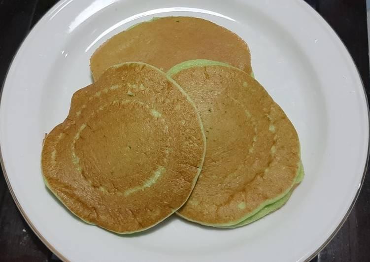 Japanese Souffle Pancake (pandan)