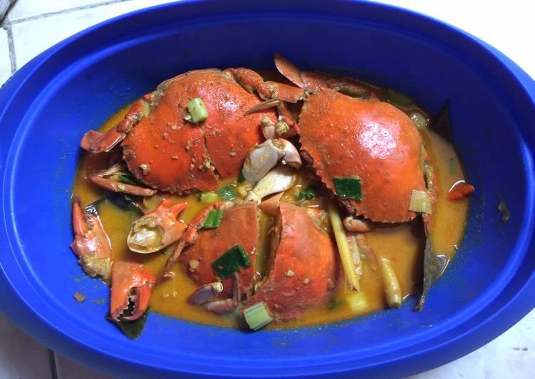 Kepiting Kari Pedas