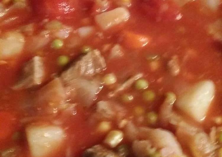 My moms veggie soup