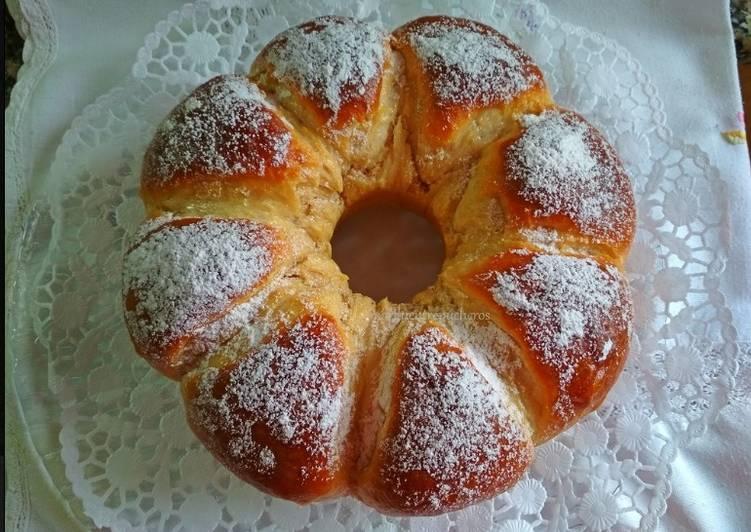 Pan brioche dulce con yogur