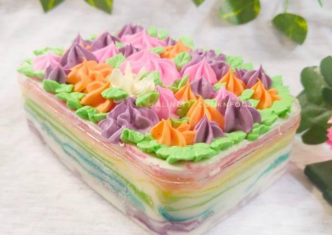 Rainbow Mille Crepes Desert Box