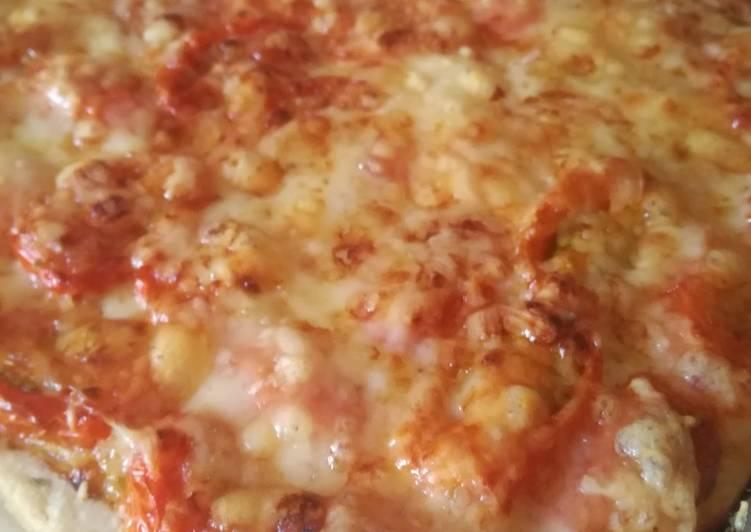 Tarte à la tomate, conté et moutarde