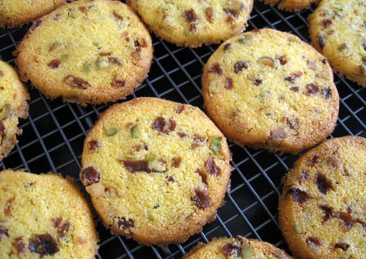 Polenta (Cornmeal) Cookies