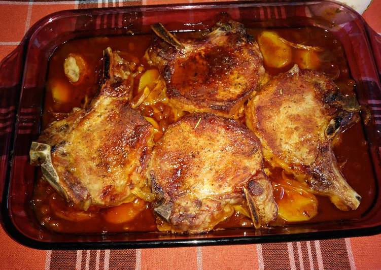 Simple Way to Prepare Award-winning Pork Chop Casserole