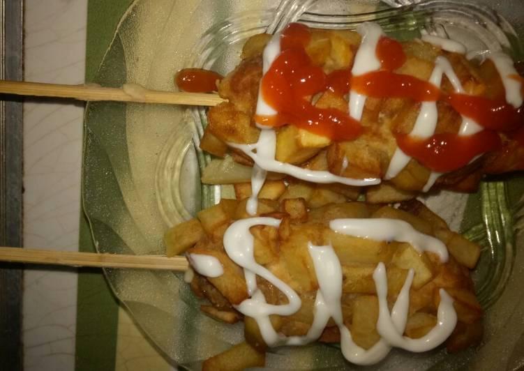 Hottang(hotdog kentang)