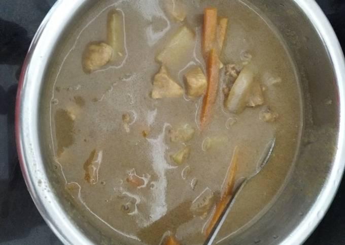 Ayam masak kurma mudah