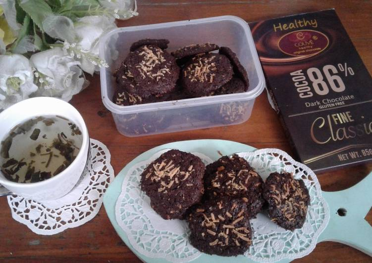 Monchoc cookies #ketopads_cp_anekakuker