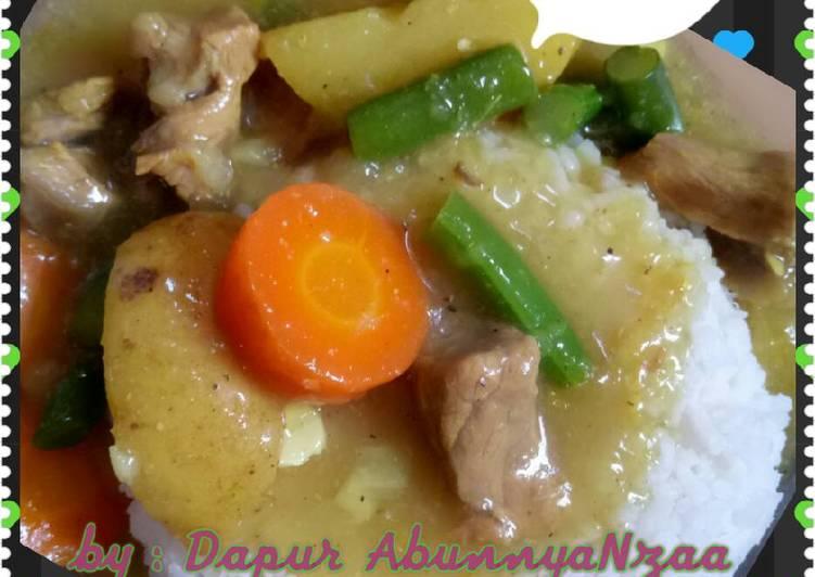 Kari Daging Ala Jepang Abun