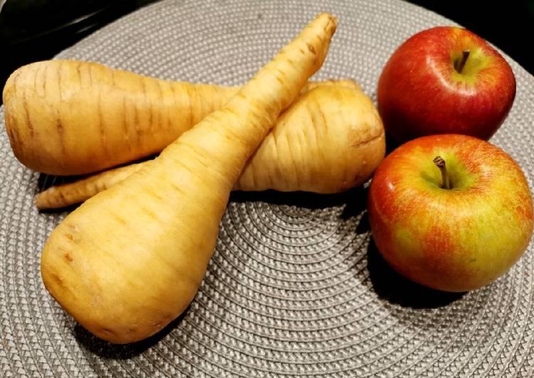 Les Meilleures Recettes de 🍏 Soupe panais, pommes au soup&co !! 🍎