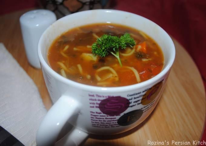 Persian vermicelli soup