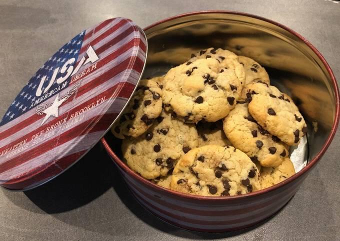 Cookies au chocolat et à la noix de coco