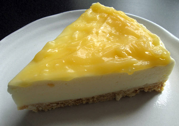 Lemon Curd & Yoghurt Mousse Cake