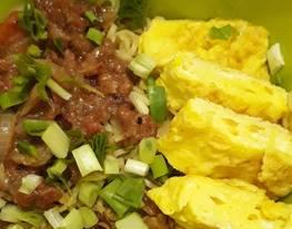 Indomie goreng Telur Kornet Lada Hitam (InTerNet Lada Hitam)