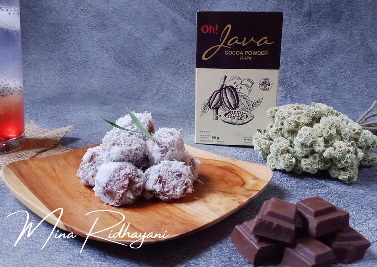 Klepon Coklat - cookandrecipe.com