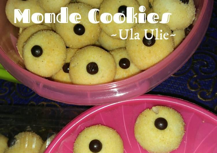 Resep Monde Cookies Janda Genit Oleh Ulaulie Cookpad
