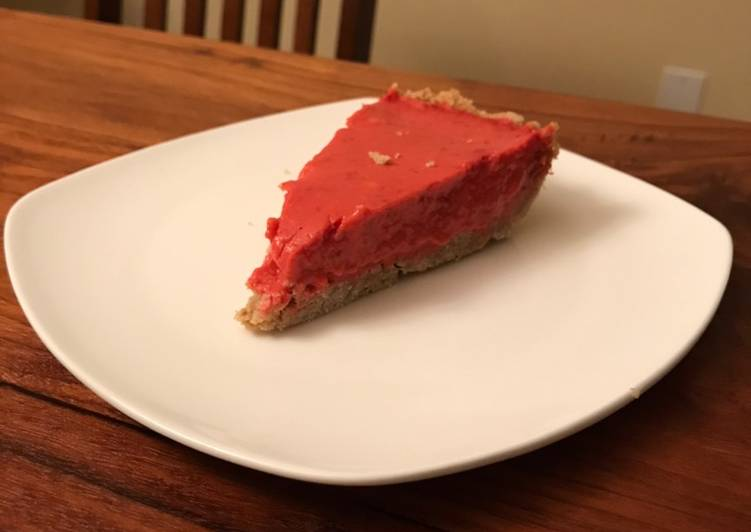 No Bake Strawberry Rhubarb Pie Filling