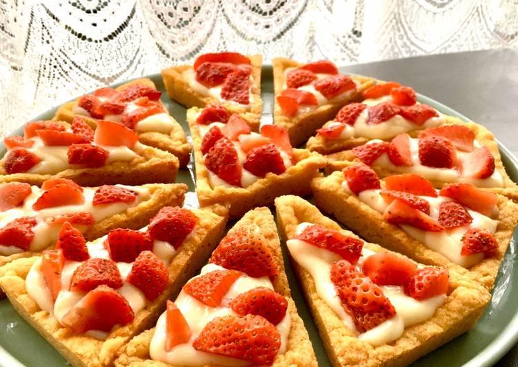 La Recette Pas à Pas Tartelettes aux fraises