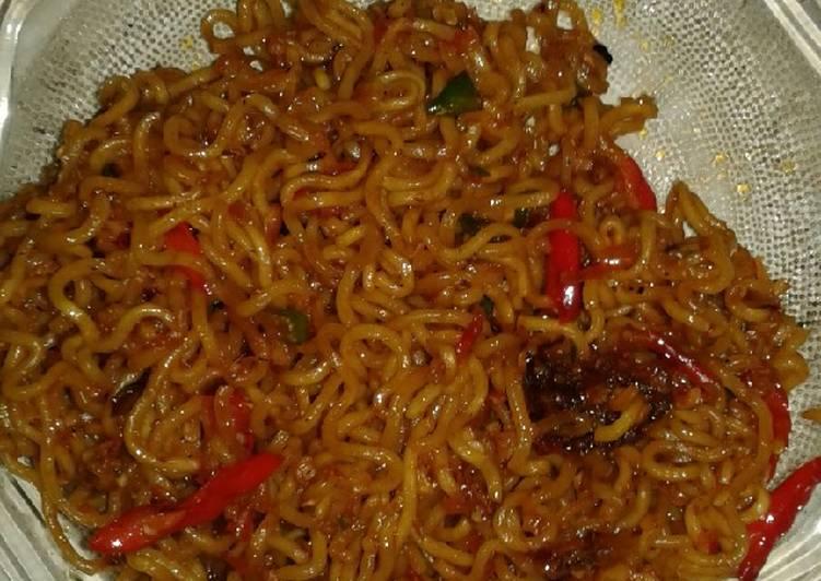Resep Mie Goreng Sambal Terasi Oleh Anna Lovecooking Cookpad