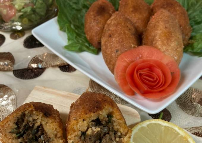 İçli Köfte/Combro ala Turki🤭/Stuffed Meatball Turkish Style