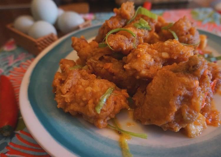 Ayam Goreng Tepung Telur Asin by Dapur Yustin