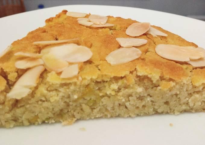 Gâteau vegan (sans lactose et sans gluten) 200 cal/100 g